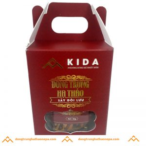 Đông trùng hạ thảo sấy đối lưu KIDA 12g